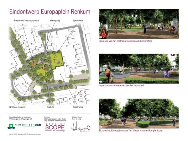 Tijdschrift Landschap_Figuur 2 - Europaplein eindontwerp kopie